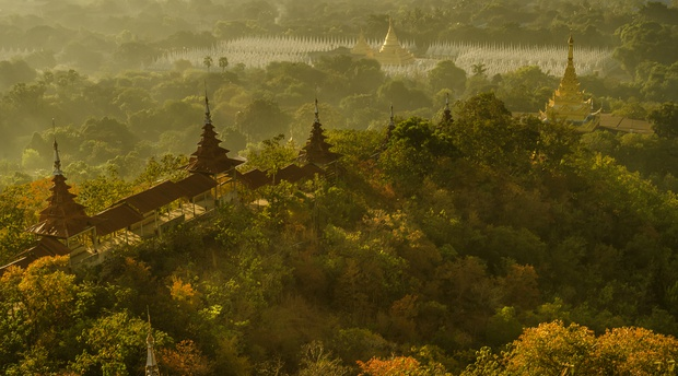 myanmar, mandalay, pagodas, art, travel